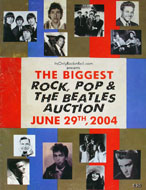 The Biggest Rock, Pop And The Beatles Auction Book
