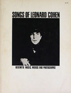 Songs Of Leonard Cohen Book