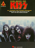 The Best Of Kiss: Guitar Recorded Versions Book