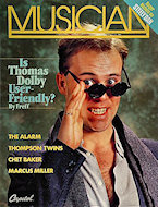 Thomas Dolby Poster