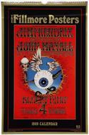 The Fillmore Posters Calendar