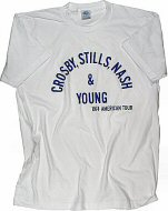 Crosby, Stills, Nash & Young Women's T-Shirt