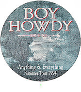 Boy Howdy Backstage Pass
