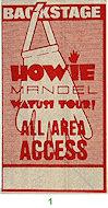 Howie Mandel Backstage Pass