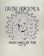 Divine Horsemen Poster