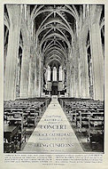 Grace Cathedral Concert Series Poster
