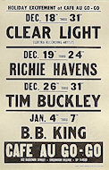 Clear Light Handbill