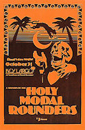 The Holy Modal Rounders Poster