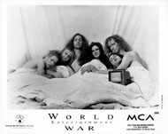 World Entertainment War Promo Print