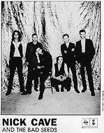 Nick Cave & the Bad Seeds Promo Print