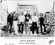Molly Hatchet Promo Print