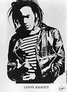 Lenny Kravitz Promo Print