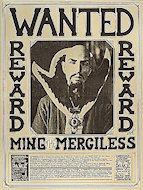 Wanted- Ming the Merciless Poster
