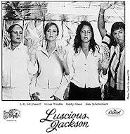 Luscious Jackson Promo Print