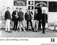 Not Drowning, Waving Promo Print