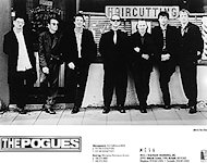 The Pogues Promo Print