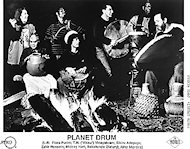 Mickey Hart & Planet Drum Promo Print