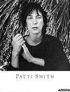 Patti Smith Promo Print
