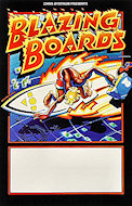 Blazing Boards Poster