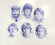 The Beach Boys Poster
