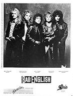 Bad English Promo Print