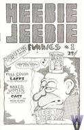 Heebie Jeebie Funnies No. 1 Magazine
