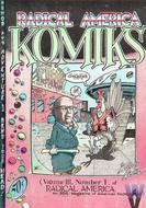 Radical America Komiks Vol. III, No. 1 Magazine