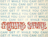 Rolling Stone Magazine Handbill