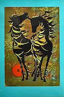 Horses Poster