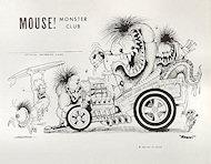 Mouse Monster Club Handbill