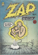 Zap Comix No. 0 Comic Book