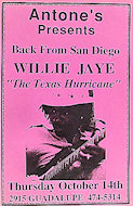 Willie Jaye Poster