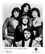 Sensational Alex Harvey Band Promo Print
