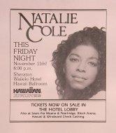 Natalie Cole Handbill