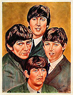 The Beatles Handbill