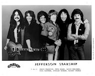 Jefferson Starship Promo Print