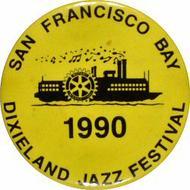 Dixieland Jazz Festival Pin