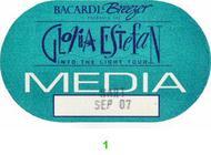Gloria Estefan Backstage Pass