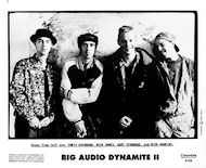 Big Audio Dynamite II Promo Print