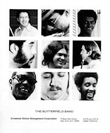 Paul Butterfield Band Promo Print