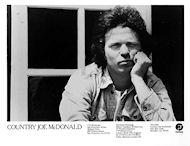 Country Joe McDonald Promo Print