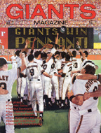 Giants Win Pennant! Magazine