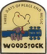 Woodstock 20th Anniversary Pin