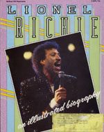 Lionel Richie: An Illustrated Biography Book