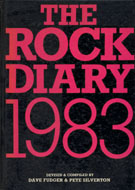 The Rock Diary 1983 Book