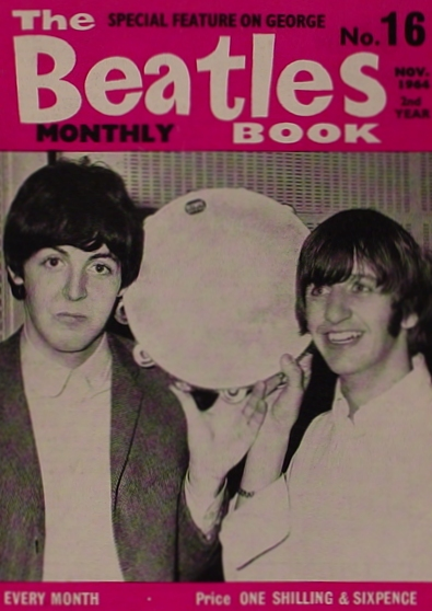 The Beatles No. 16 Magazine