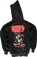 Kiss Men's Vintage Sweatshirts