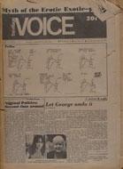 The Village Voice Vol. 17 No. 47 Magazine