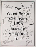 The Count Basie Orchestra Program