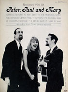 Recorded Hits Of Peter, Paul And Mary Book
